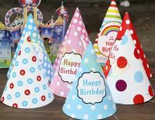 800 sztuk dziecko kid rainbow urodziny kapelusz dziecko korona papier dekoracyjny czapka kreskówka wzór festiwal kolorowe urodziny kapelusz tanie tanio Dzieci Serce W paski Star Cartoon zwierząt HALLOWEEN Birthday party Wielkie Wydarzenie Chiński nowy rok Graduation Ślub