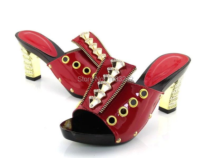 ФОТО TR-3-RED SIZE 37-43 African wooden shoes quality, genuine leather material