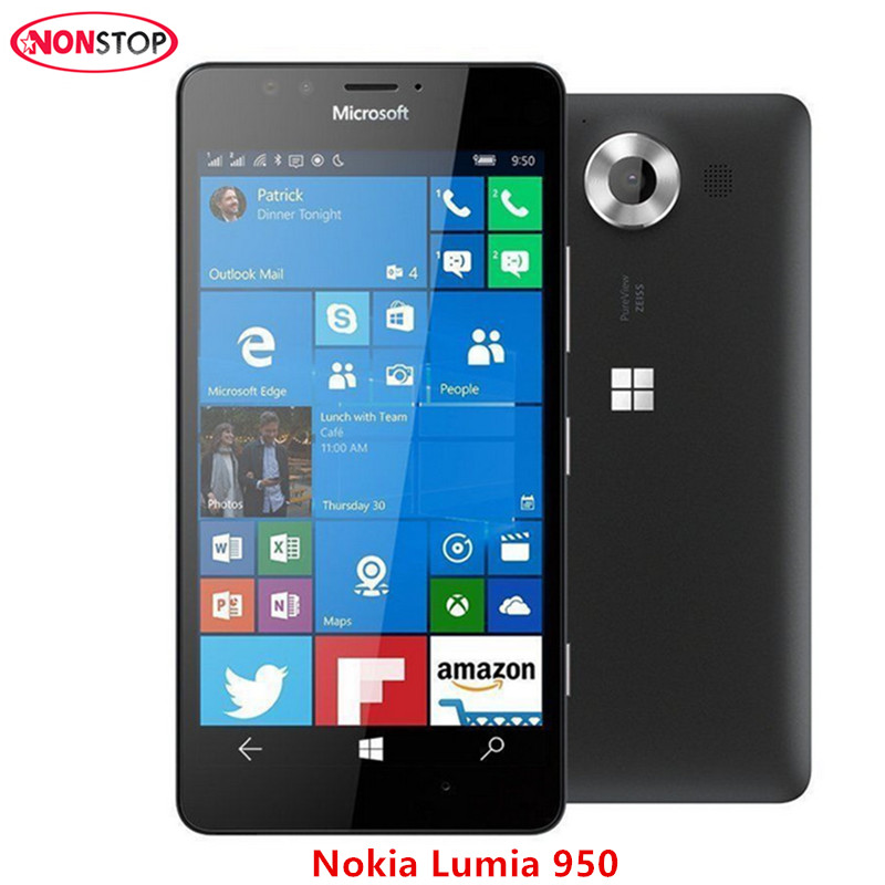 Unlocked Original Nokia Microsoft Lumia 950 Cell Phone ...