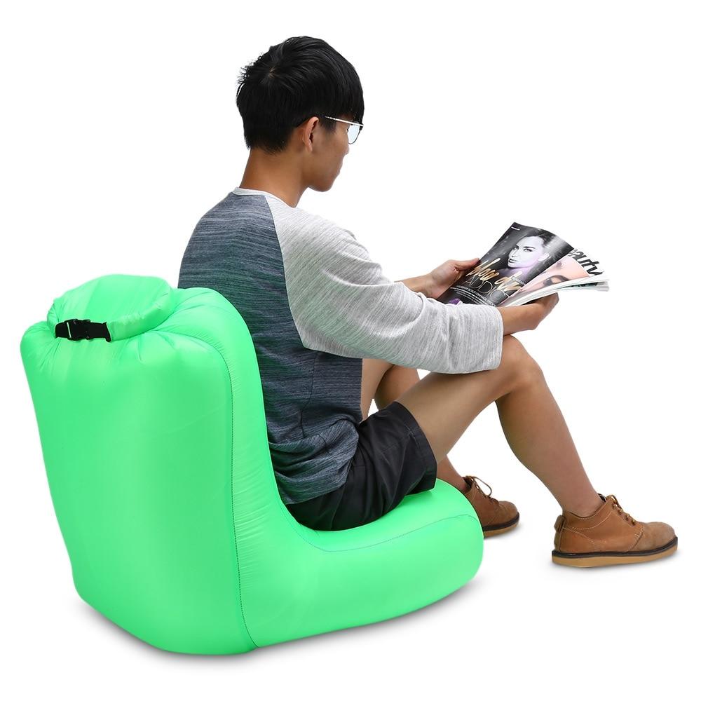 Portable Air Sofa Inflatable Air Sleeping Bag Camping