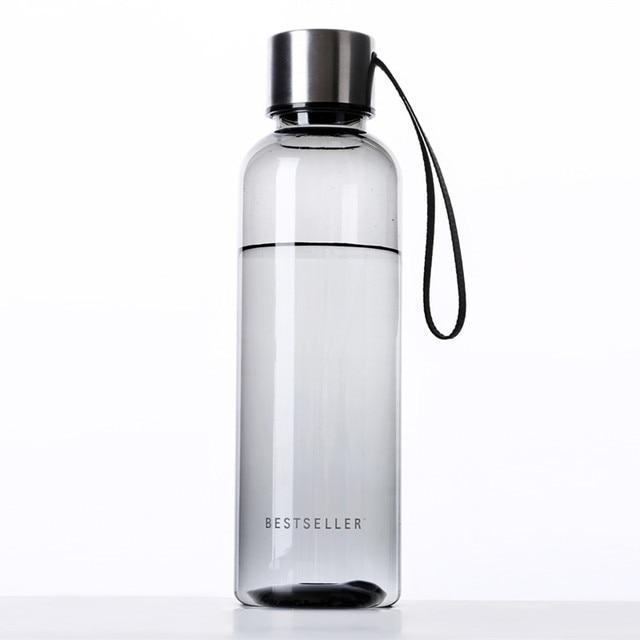 a1c2ccc927 Best Quality Tritan(BPA Free) Fashion Water Bottles 550ml Portable Space  Cup Resistant Sports Lemon Juice Circle Clear Bottle