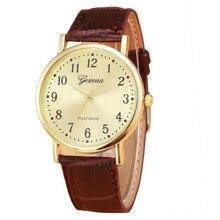 Women's watches Woman Mens Retro Design  Leather Band Analog Alloy Quartz Wrist Watch Relogio feminino Watches women