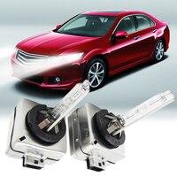 LED 12V Car Motorcycle Headlight Xenon Replacement Bulbs Lamps Set Kit 35W D1S 12000K 55W 4300K
