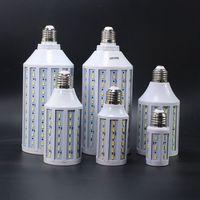 6pcs/lot 12v 24v 35w led corn bulb E27 E14 B22 30W 35W 45W 12 48v smd 5730 LED corn light warm/cool white free shipping
