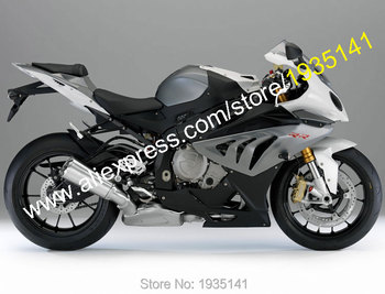For BMW S1000RR ABS Parts 2010 2011 2012 2013 2014 S 1000RR S1000 RR Black Gray Motorcycle Fairing (Injection molding)