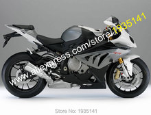 Hot Sales,For BMW S1000RR ABS Parts 2010 2011 2012 2013 2014 S 1000RR S1000 RR Black Gray Motorcycle Fairing (Injection molding)