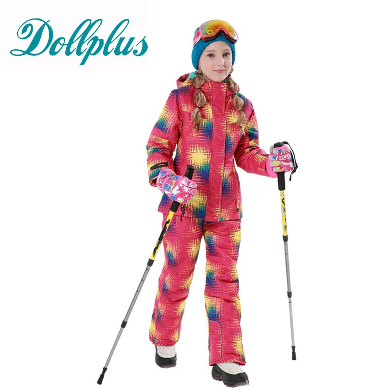 Children Ski Suit Windproof Waterproof Outdoor Sport Wear Camping  Snowboard Skiing Jacket+Pants Winter Warm Clothing For 6-16T шелковая сыворотка silk silky serum 100 мл christina