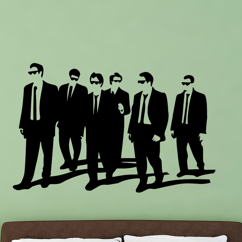 Modern Commercial Man Wall Stickers Decor for Meeting Room Company Wall Decor Stikers for Wall Decoration Murals Removable PVC