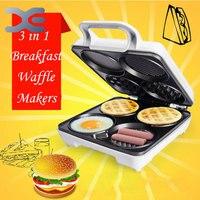High Quality Multifunction Machine Waffles Muffin Machine Pancake Machine Breakfast Machine Free Shipping