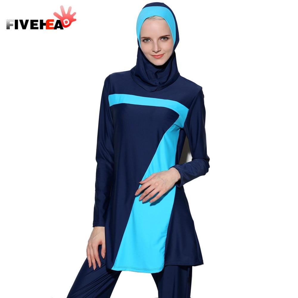 Traje de baño musulmán MAMAMIA 2018 traje de baño tres piezas - Ropa deportiva y accesorios