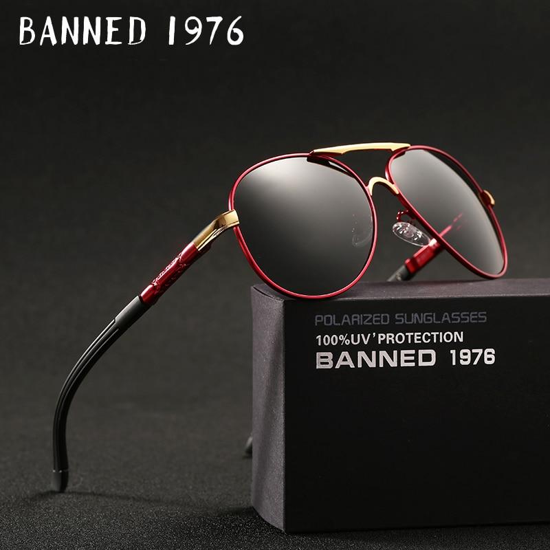 2018 New Top quality Aluminum HD Polarized Sunglasses UV400 men driving metal frame sun glasses male goggles women cool oculos