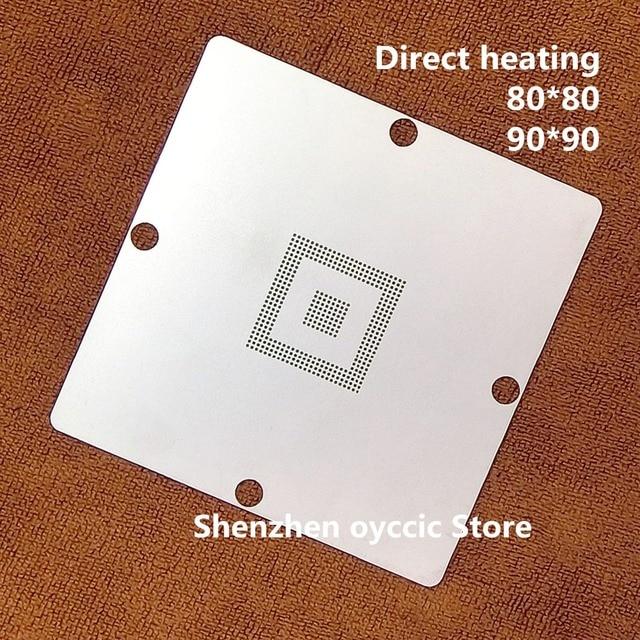 Direct heating 80*80 90*90 SAK TC1797 SAK TC1797 512F180E AC SAK TC1796  256F150EBE  BGA Stencil Template