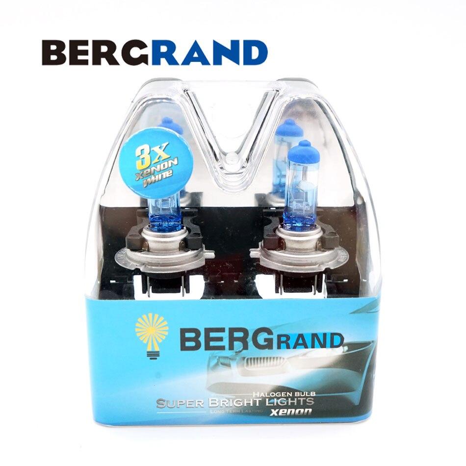 1 PAIRE H7 12 V 55 W Halogène 4300 k Xénon Super Vision Ultra phare Ampoules Brouillard Lumière De Verre De Quartz 30% Plus Vie bombilla coche