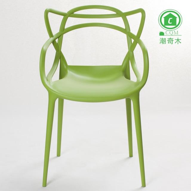 Vines Plastic Chair Dining Chair Creative Design Minimalist Fashion  Designer Casual Outdoor Furniture Garden Chairs
