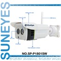 SunEyes SP-P1801SW 1080 P Full HD de 2.0MP Cámara IP Inalámbrica Al Aire Libre matriz IR 25 M SD/TF Ranura de la Tarjeta de Línea de Audio de Dos Vías puerto