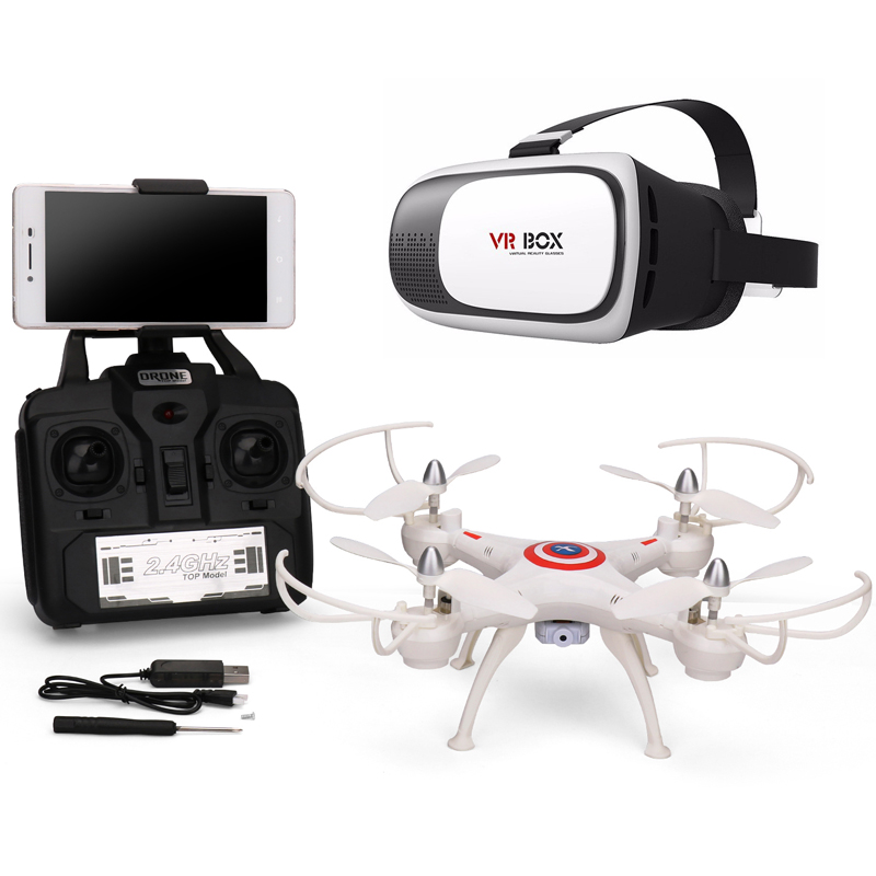 RC Drone with font b Camera b font HD 0 3MP 2 0MP RC Quadcopter 2