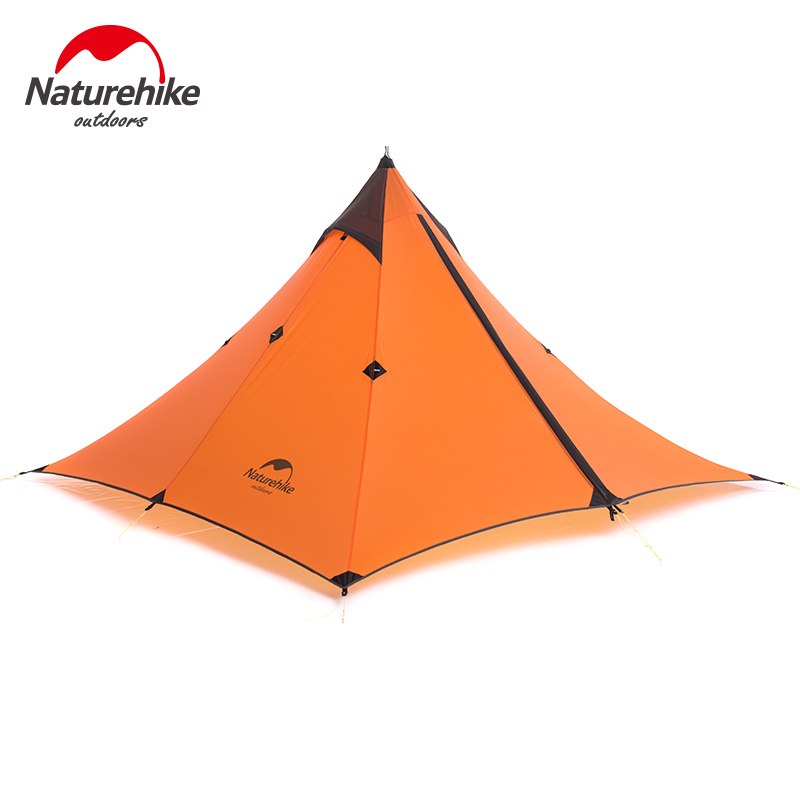 Naturehike Ultralight Hiking Tent 20D Silicone Outdoor Portable Single Person Camping Waterproof Traveling Shelter Tent nh cloud outdoor single person camping tent anti rain 4seasons ultraportability 20d nylon silicone cated waterproof 8000mm