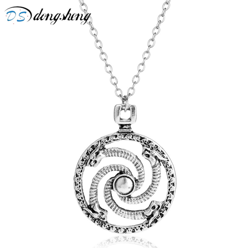 dongsheng Fashion Jewelry Movie HP Alloy Horcrux Necklace The Wrap Dobble Snake Pendant Choker Necklace for Fans-30
