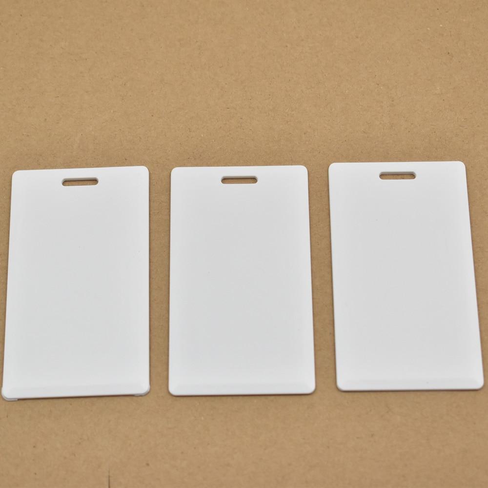 bilder für 25 teile/los 125 KHz rfid T5577 Thick-karte Access Control System karte RFID Karte wiederbeschreibbare