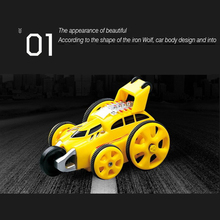 RC Stunt car 2 4G Electronic Climbing Car 360 degree Rotate Model Remote Control mini toys