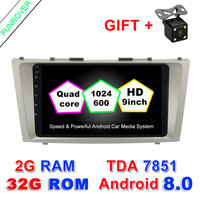 9 2g 32g 2 Din Car Dvd Android 8 0 For Toyota Camry 2007 2008 2009