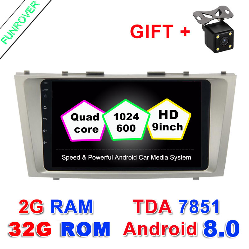 9 2g 32g 2 Din font b Car b font Dvd Android 8 0 For Toyota
