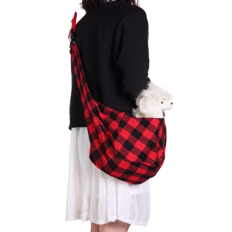 Dogs Backpacks Small Cat Dog Fashion Adjustable Sling Hand Bag Carrier Supplies Under 5kg