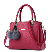 High Quality Printing Women Bags Women PU Leather Shoulder Messenger Bags Sweet Tote Bag Bolsa Women