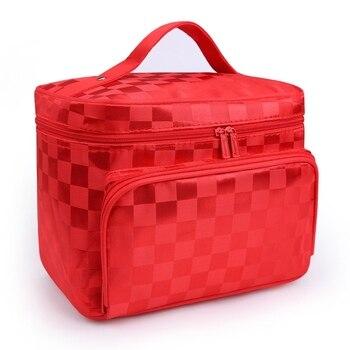 Cosmetic Makeup Bag Folding Travel Makeup Organizer Bag Waterproof Cosmetic Bag Makeup Brushes Case Wash Bags