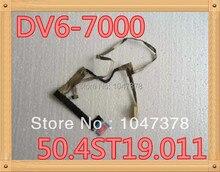Оригинальный жк lvds кабель для hp pavilion dv6-7000 50.4st19.011