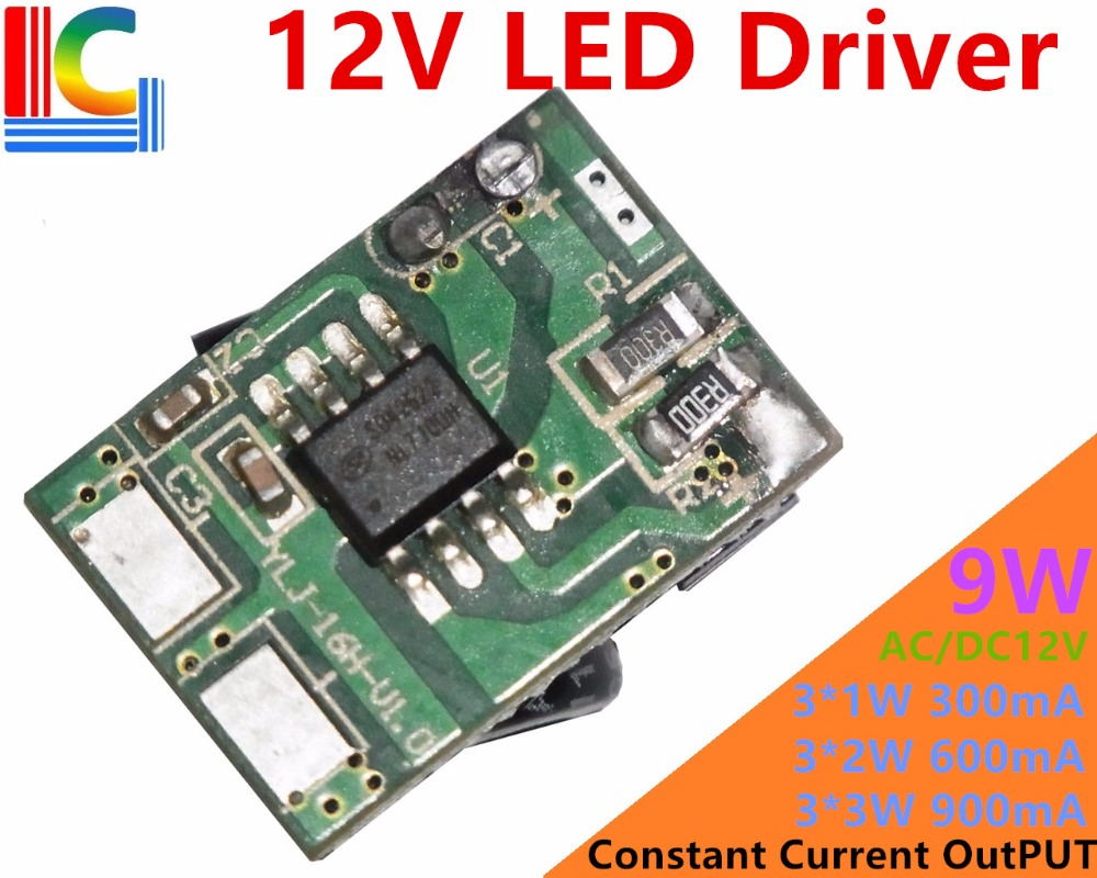10PCs/Lot 12V 10W Led Driver for 3*3W 9-11V 900mA High Power 10W LED Chip Transformer CE High Quality Power Supply Free Shipping