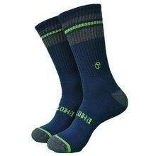 1 пара плотные махровые 85% бамбуковые повседневные мужские носки скейтбордиста Мода и хорошее качество