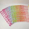 Цитай 24 см * 12 см буквы алфавита Скрапбукинг креативные наклейки A-Z Гостиная Спальня Декор для дома своими руками для детей Ps001