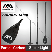 AQUA MARINA carbon fiber paddle for SUP get up paddle board for browsing boards adjustable 160-210cm diameter 29mm oar T deal with
