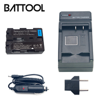 1X NP FM500H NP FM500H Rechargeable Li ion Battery+Battery Charger For Sony A65 A77 A99 A500 A560 A580 A850 A900 A100 A57 A200