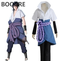 Anime Cosplay Naruto Ninja Sasuke Uchiha Cosplay Party Costume any size