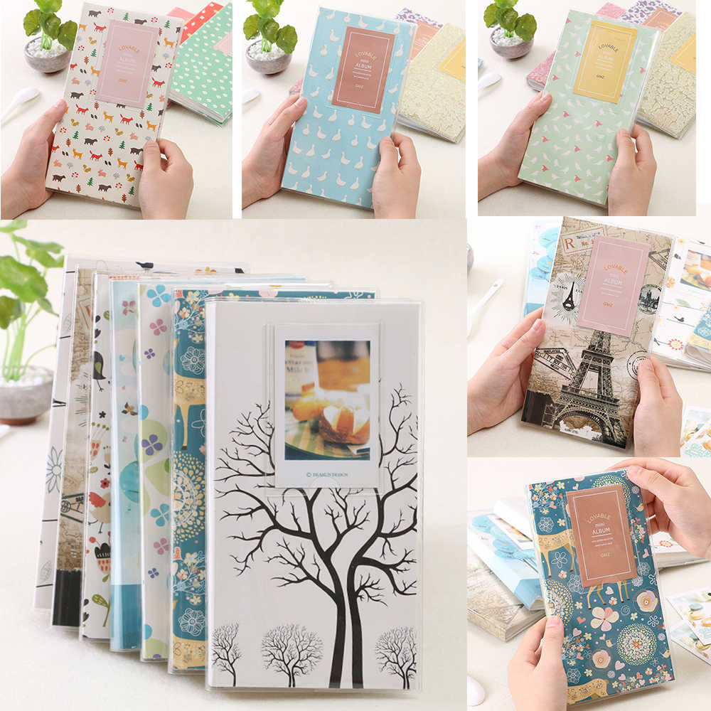 Optional 84 Pockets Photo Film Album / Wall Album Storage For FujiFilm Instax Mini 8, Mini 9 7s 50 90 Mini Film Paper Size