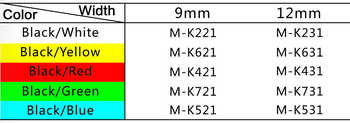Compatible for Brother 30PCS M-K231 MK-231 Black on White 12mm*8M Label Tapes for Brother p touch Printers PT-80 PT-70 PT-60