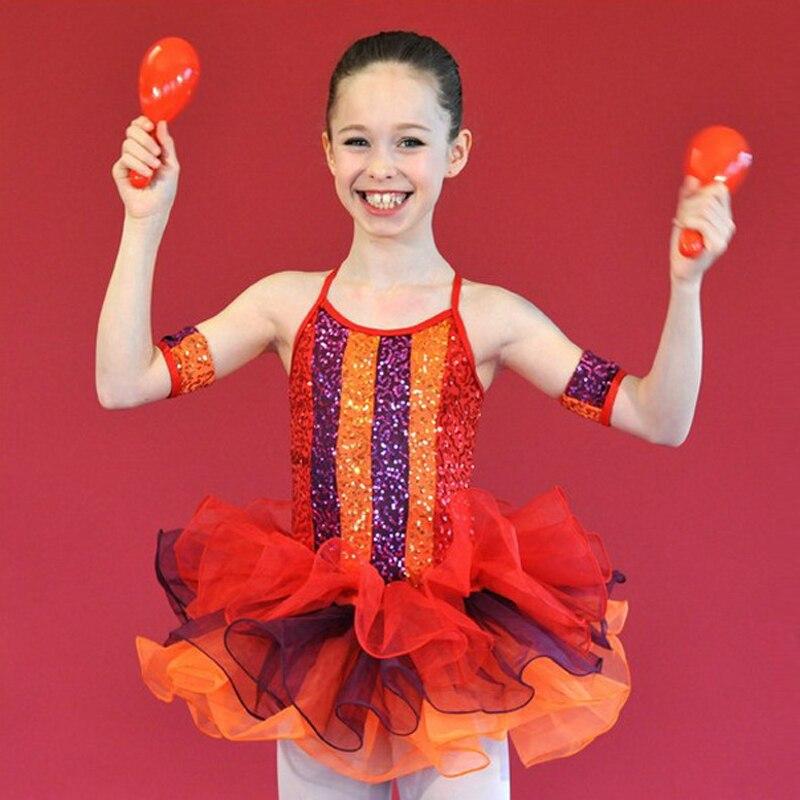 Sequin Camisole Ballet Tutu Dress For Girls Female Dance Suit Dresses For Women C52