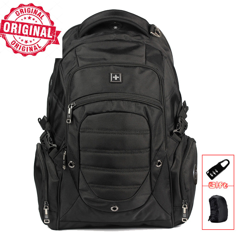 swiss business 8810 sac a dos usb 17 business travel laptop Backpack mochila male backpacking Laptop Backpack Sac A Dos Bagpack