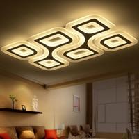 EuSolis 110 220 В ультра тонкие прозрачные потолочные светильники Abajur Кухня лампа кристалл светильник Luces Led Para El hogar лампе