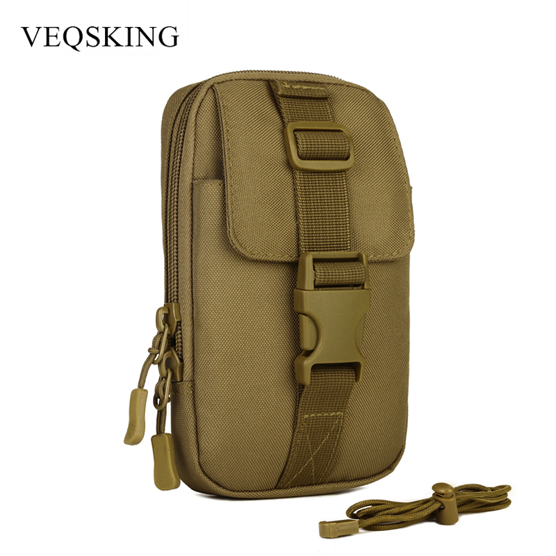Multifunction Molle Tactical Bag Outdoor Waist Bag Women Men's Military Shoulder Bag Waterproof Nylon Waist Belt EDC Tool Bag