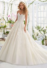 Strapless A-Line Sexy Sweetheart Lace Wedding Dresses China Online Store Design Appliques Robe De Mariage 2016 W122413