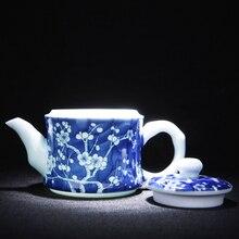 Blue And White Porcelain Tea Pot Ceramic Kung Fu Tea Sets Jingdezhen Vintage Teapots Kettle High Quality Chinese Tea Service стоимость