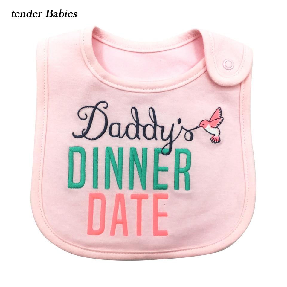2018 Cotton Newborn Bibs Burp Cloths Baby Bibs Bandana Kids Baberos Bebes baby Girl Boy Bib Baby Clothing Feeding Saliva Towels