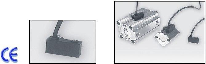 KT-33R capteur REED commutateur (LONG fil) AC DC 5-240 V