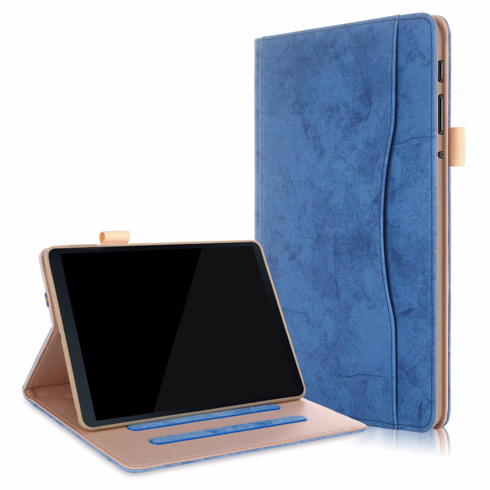 Tablets & E-books Case Flight Tracker 100pcs/lot Inner Frame Front Hand Rest High Quality Leather Cover Case For Samsung Galaxy Tab A A2 10.5 2018 T590 T595 T597 Case Beautiful In Colour
