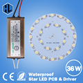 free shipping10PCS 1W3W5W7W9W12W15W18W 21W24W30W36W LED Star high power led chip board panel+Waterproof led power supply driver