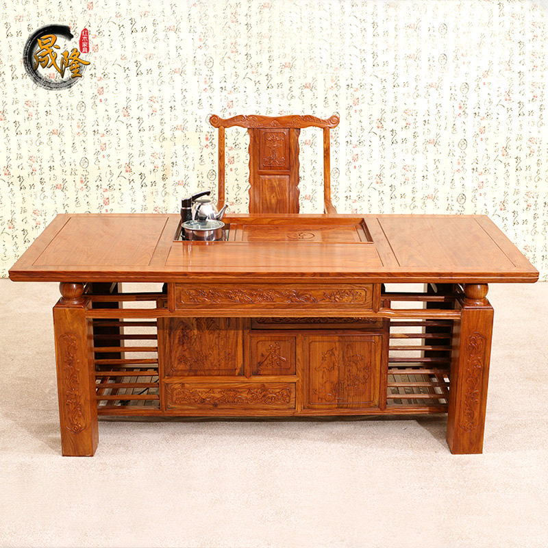 African Rosewood Mahogany Furniture Chinese Antique Tea