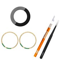 Oemバックリアカメラガラスレンズカバー交換互換8とiphone 7オリジナル接着剤と修理ツール